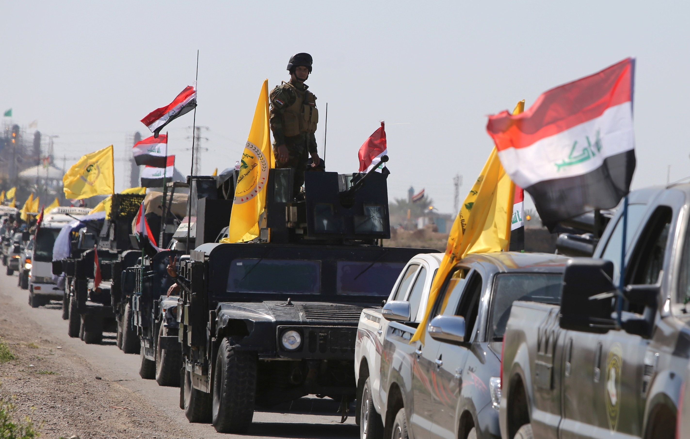 VIDEO: Iraqi Popular Mobilization Units Besieges the Village of Al-Bashir