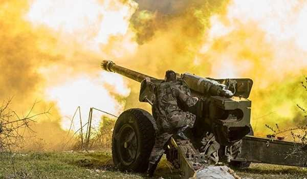 Syrian Army Forces Raze Terrorists Positions in Several Areas