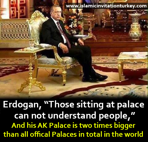 erdogan's palace