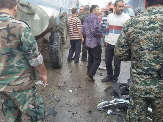 News Pics, Homs Twin  Blast Risen to 12 killed 60 injured: Social Medias