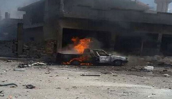 First Footage of Homs Twin Blasts Released: 12 Killed, 60 Injured