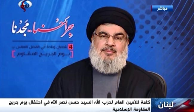 US, Allies Don't Want United Islamic Ummah, ISIS, Plot against Resistance: Nasrallah