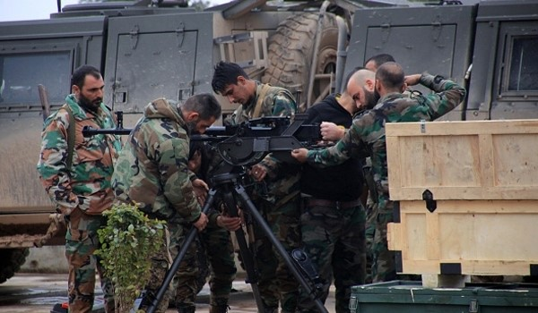 VIDEO: Syrian Army Wins One more Battle against Terrorists East of Damascus
