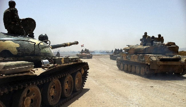 VIDEO: Syrian Army Takes More Heights Southwest of Homs, Hama against ISIL