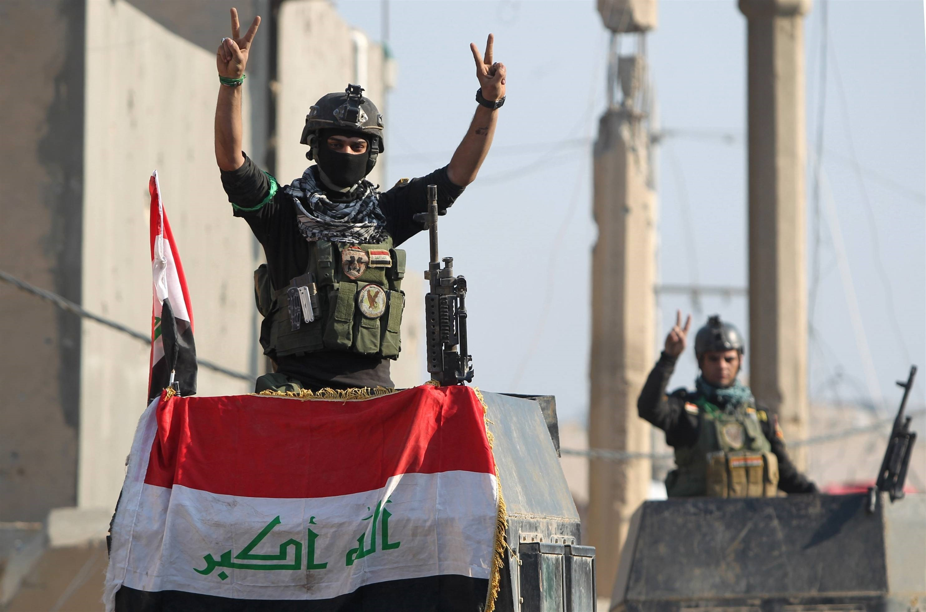 VIDEO: Iraqi Army Liberates Several Sites in South and West of Fallujah