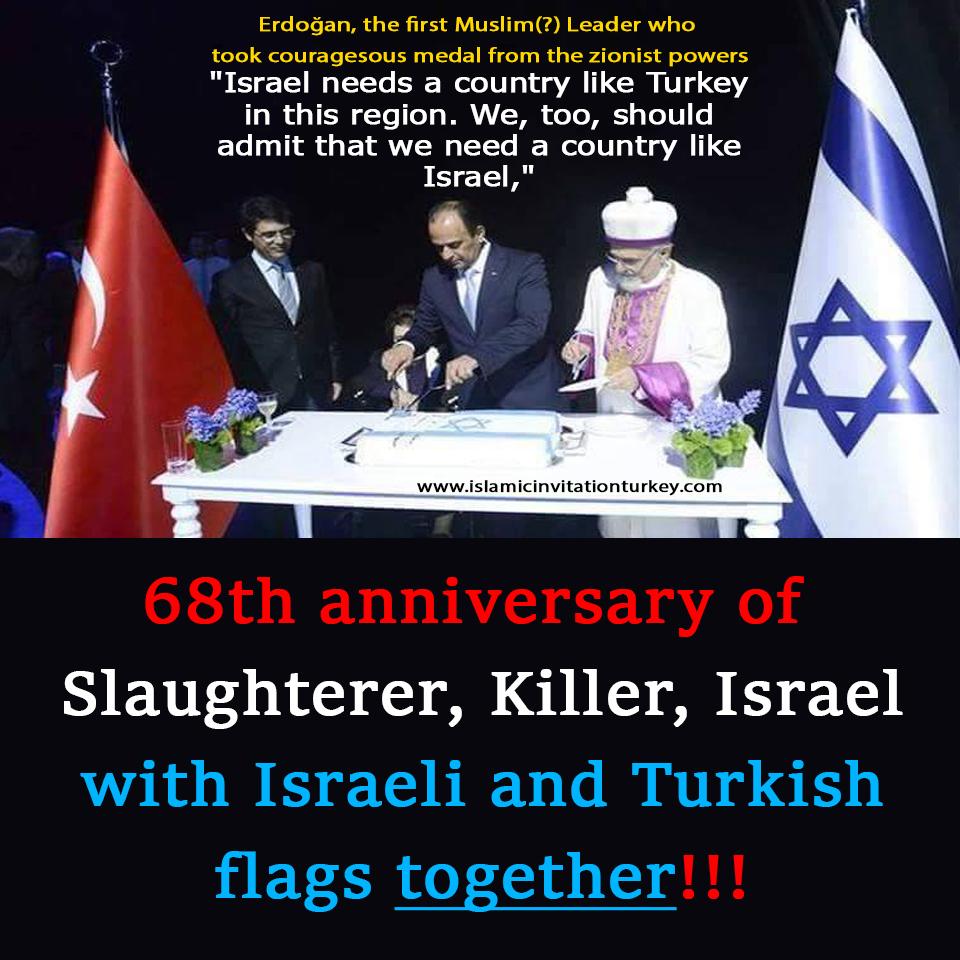 israel turkey together