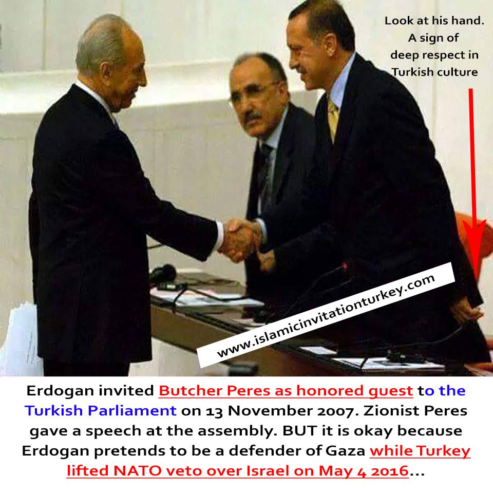 peres at turkish assembly