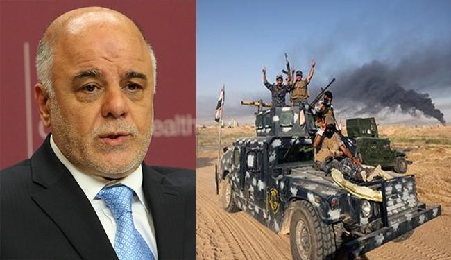 Iraqi Army to Liberate Fallujah Soon with Minimal Losses: al-Abadi