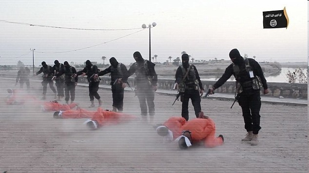 FILE: ISIS Publicly Execute An Escapee Family in Manbij Including 2 Children