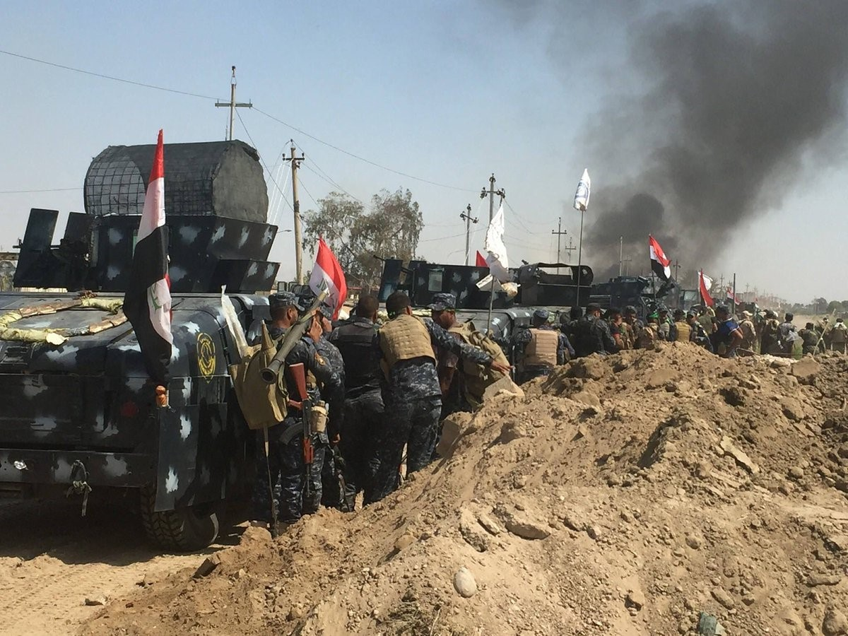 Iraq Forces Push into last Daesh Stronghold in Fallujah is imminent