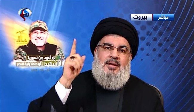 600 Terrorists Killed in joint operations with SAA in Aleppo in June: Nasrallah