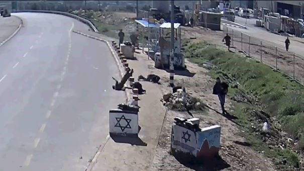 TOTAL CHAOS: Footage shows Israeli soldier Killed by friendly Fire