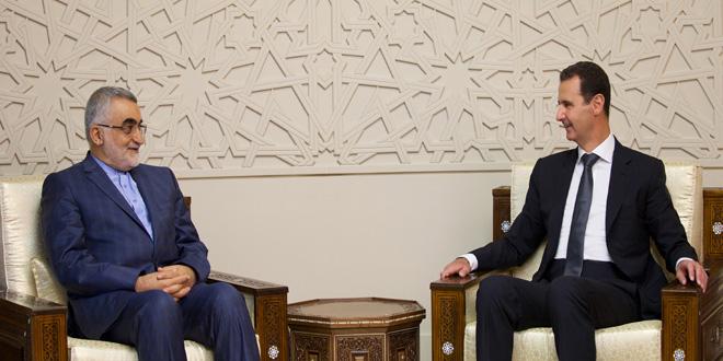 President-al-Assad-Boroujerdi-3