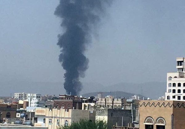 VID & PICS: Saudi Airstrikes Kill 20, Injured Tens Civilians on Yemen's Sanaa