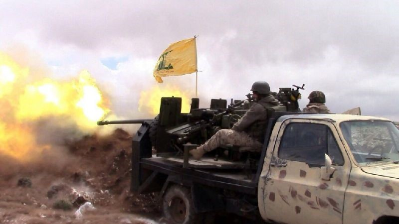 Hezbollah Fighters Pound ISIS Militants near Lebanon-Syria Border