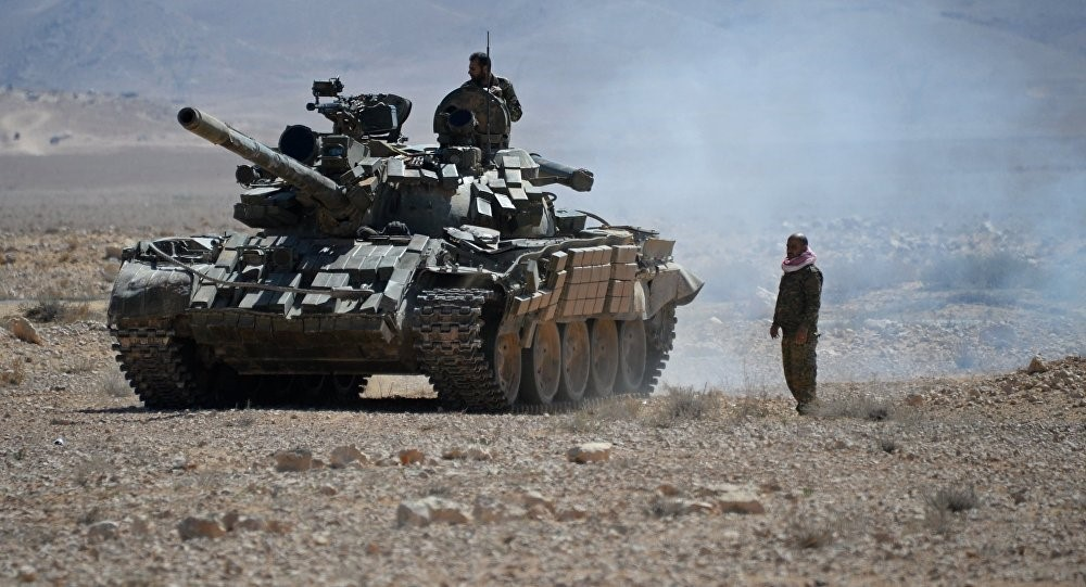 Syrian Army Push ISIS Away from Deir Ezzor Military Airport, Reenters Jabal Thardeh