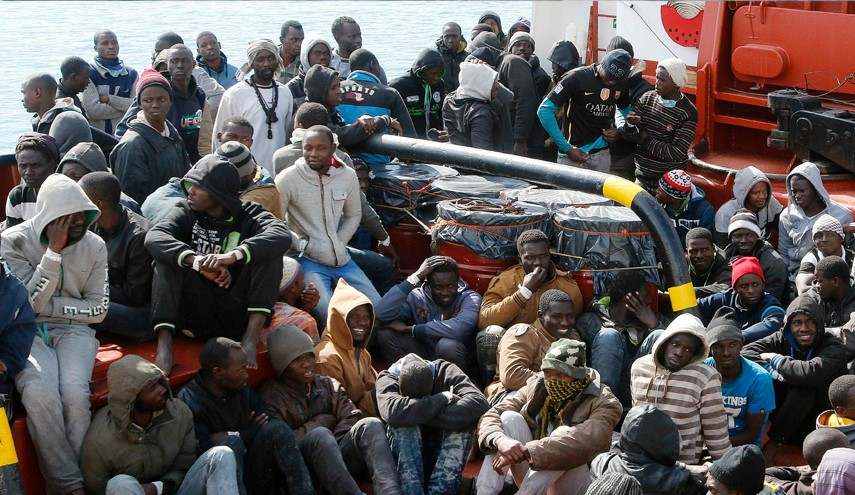 Over 4,600 Migrants Rescued by Italy in Libya Coast