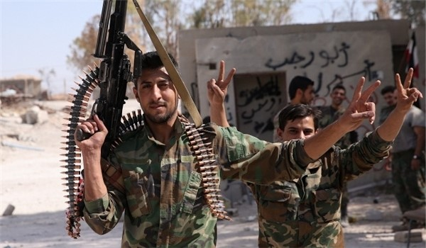 Al Hamah in Damascus under Syrian Army Control as 300 Rebels Surrender