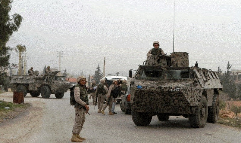 Lebanese special raid to arrest Amoun ISIS leaser in Lebanon