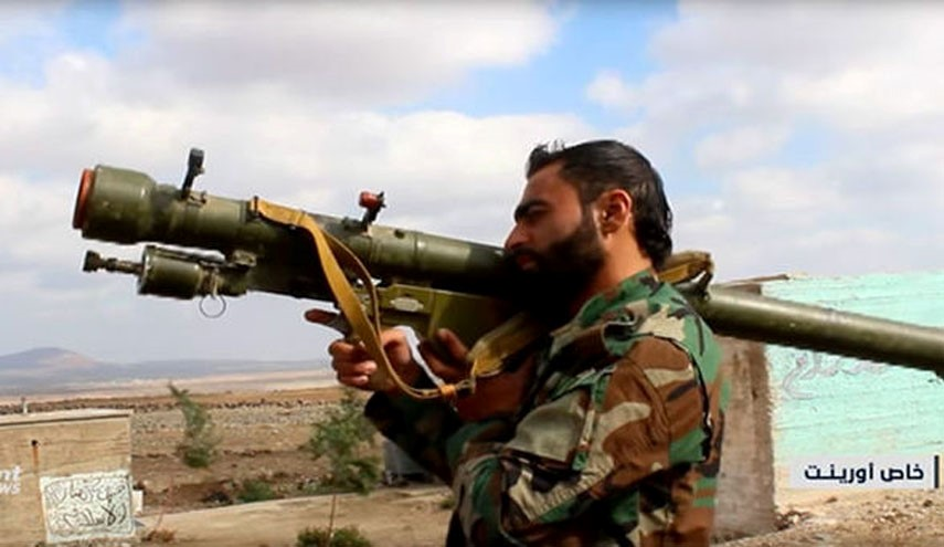 ISIS Terrorists Show Off the Anti-Aircraft Missiles in Southern Syria