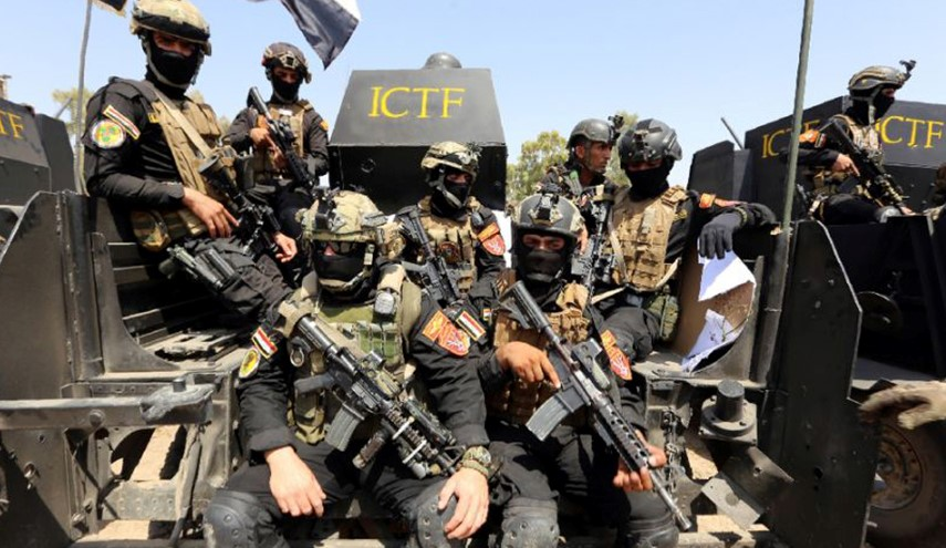 Iraqi CTS Forces Advance against ISIS Militants in Mosul Operation