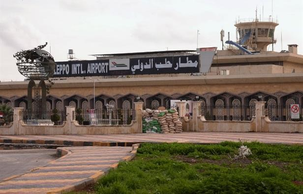 Syrian Army Target Terrorist Positions advancing to Aleppo Airport