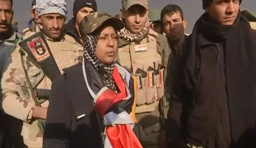 AMASING VIDEO: Woman Who Stands Shoulder To Shoulder With Men Against ISIS in Iraq