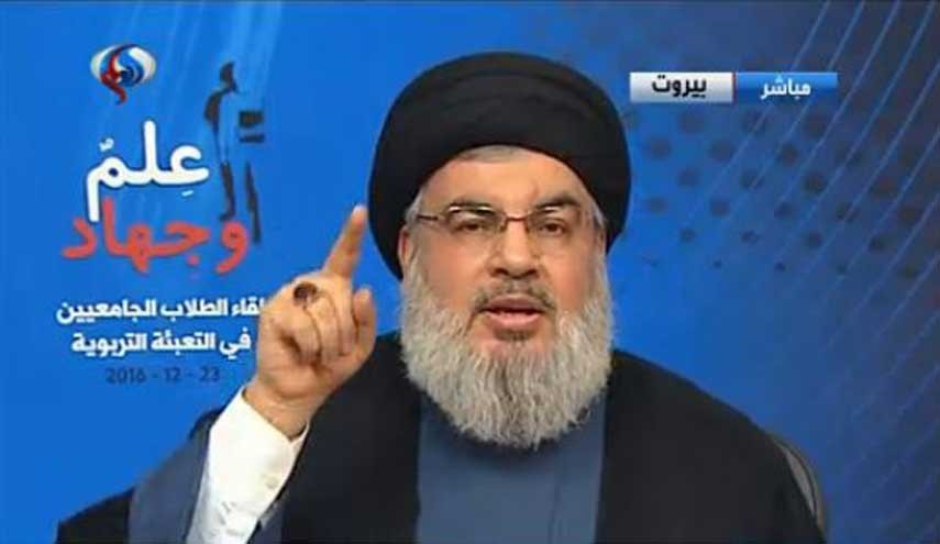 Sayyed Nasrallah Says Takfiris Failed to Oust Syrian Government