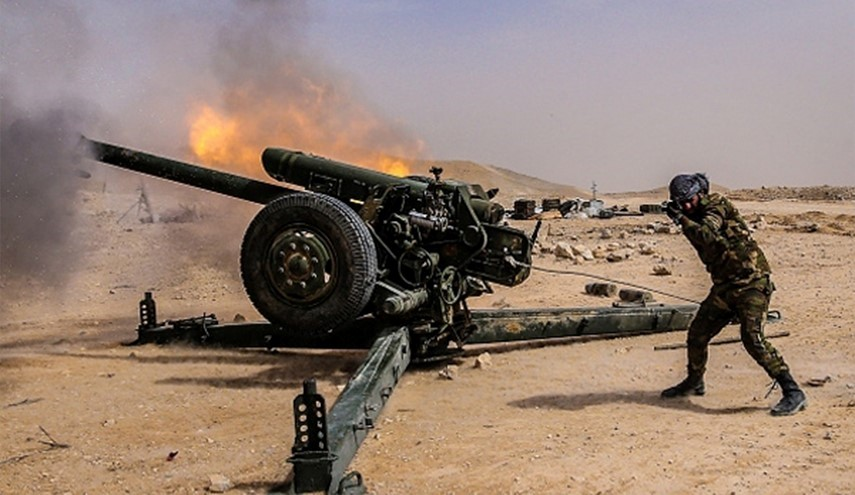 Syrian Army Heavily Targets Militants' Positions in Eastern Damascus