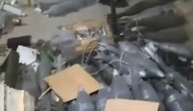 SYRIA VIDEO: 'Gift from Qatar' Discovered in Eastern Aleppo!