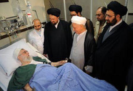supreme-leader-visit-hospital