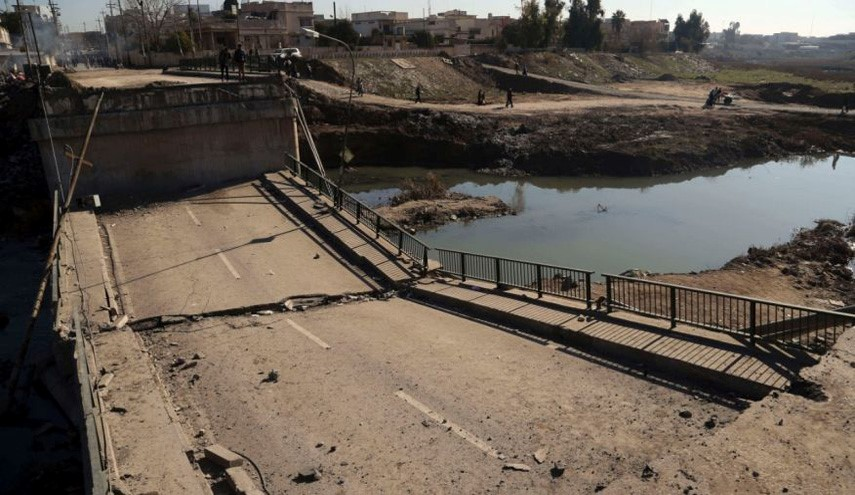 Iraqi Army Troops Enter Mosul University, Capture Tigris Bridge from ISIS