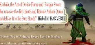 "Prominent Sunni Cleric ""Karbala, the act of Divine Flame and Furqan Sworn that uncover the dirty hands."""