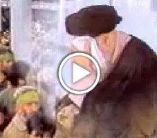 Video- Imam Rohollah Mosavi Khomeini at Ashura Mourning