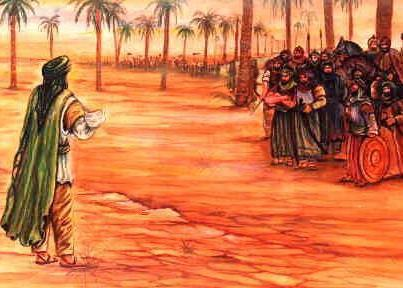 Baby-Ali-Asgher-Abd-Allah-comes-into-Battlefield