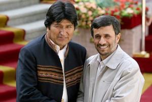 Iran-President-Mahmoud-Ahmadinejad-Bolivian-counterpart-Evo-Morales