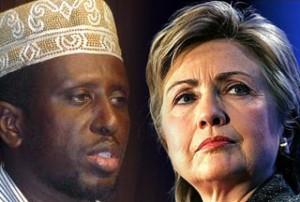 Somalia-President-Sheikh-Sharif-Ahmed-US-Secretary-of-State-Hillary-Clinton