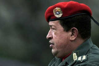 Photo of Chavez to beef up Venezuela's military power