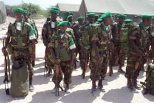 Burundian-troops