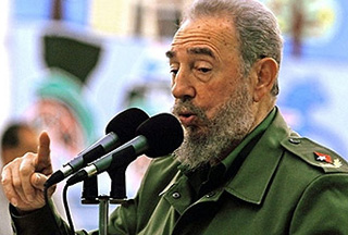Photo of Castro: US aims to overthrow Chavez's government