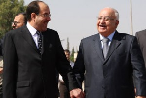 Syrian-Prime-Minister-Naji-al-Otari-Nuri-al-Maliki