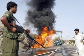 Photo of In western Afghanistan, bomb blast kills 12