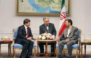 AhmadiNejad-with-Turkey-FM