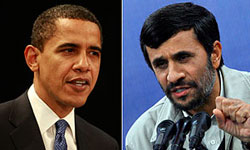 Photo of Ahmadinejad Ready for Public Debate with Obama at UN