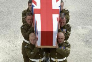 212 British soldiers have been killed in the bloody war since 2001