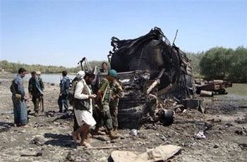 Photo of Afghan governor: 130 killed in NATO air strike