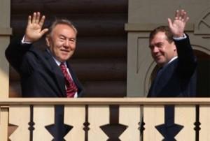 Nazarbayev-Medvedev