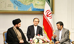 Ammar-al-Hakim-Ahmadinejad
