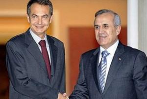 Jose-Luis-Rodriguez-Zapatero-Michel-Suleiman
