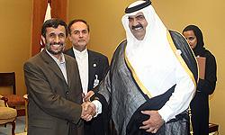 Photo of Qatari Emir due in Tehran tomorrow morning
